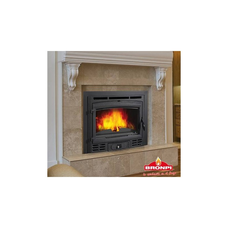 Insertable bronpi canada rustico chimeneas ruiz for Hogares a gas rusticos