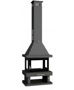 CHIMENEA METALICA CENTRAL FM C-104